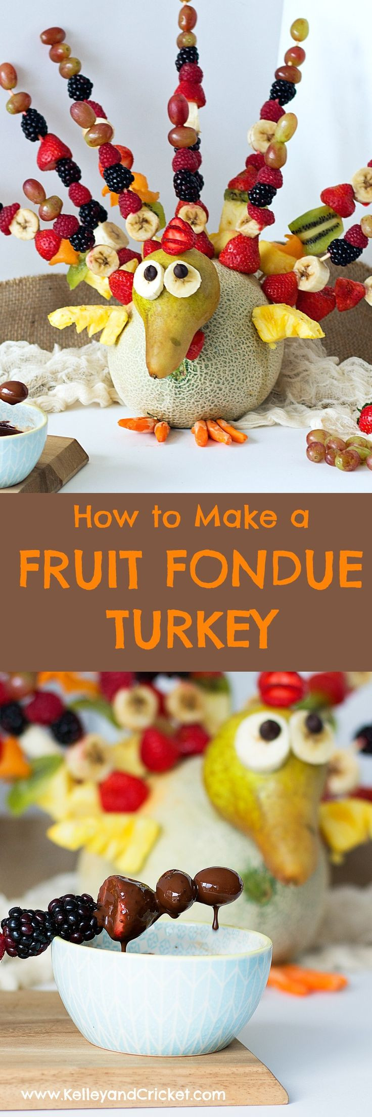 Thanksgiving Fruit Desserts  Best 20 Fruit turkey ideas on Pinterest