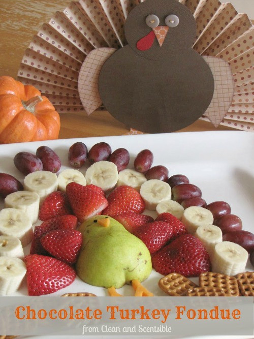 Thanksgiving Fruit Desserts  Chocolate Turkey Fondue Clean and Scentsible