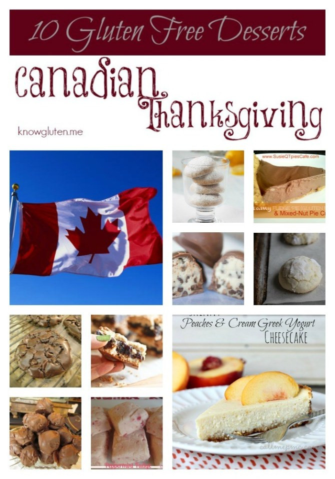 Thanksgiving Gluten Free Desserts  10 Gluten Free Desserts for Canadian Thanksgiving know