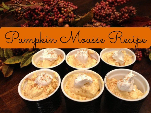Thanksgiving Gluten Free Desserts  Easy Gluten Free Thanksgiving Dessert Pumpkin Mousse Recipe