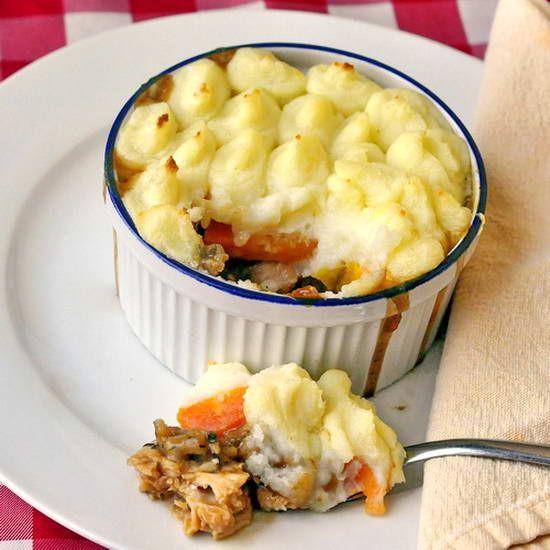 Thanksgiving Leftover Shepherd'S Pie  Leftover Turkey Cottage Pie two ways Recipe
