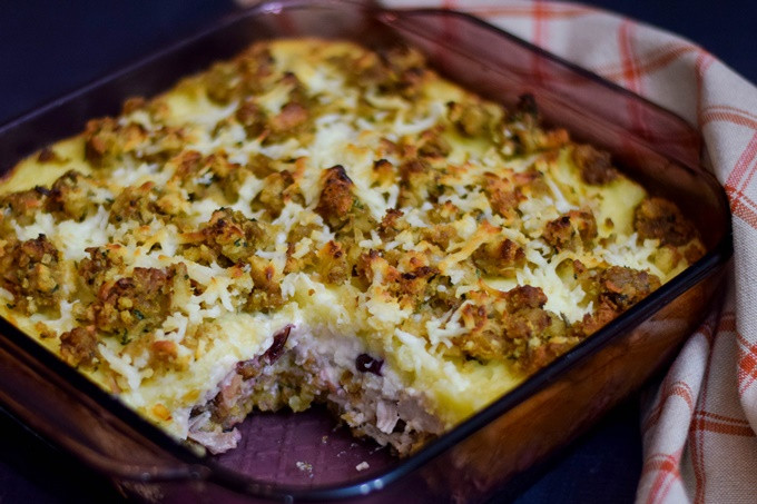 Thanksgiving Leftovers Casserole  Leftover Thanksgiving Turkey Casserole Grumpy s Honey Bunch