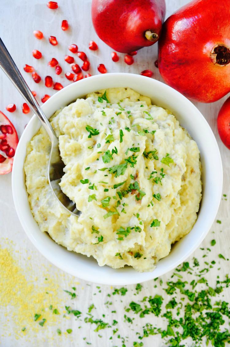 Thanksgiving Mashed Potatoes Recipe  Nutritarian Mashed Potatoes