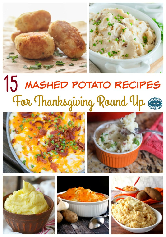 Thanksgiving Mashed Potatoes Recipe  15 Mashed Potato Recipes For Thanksgiving Round Up