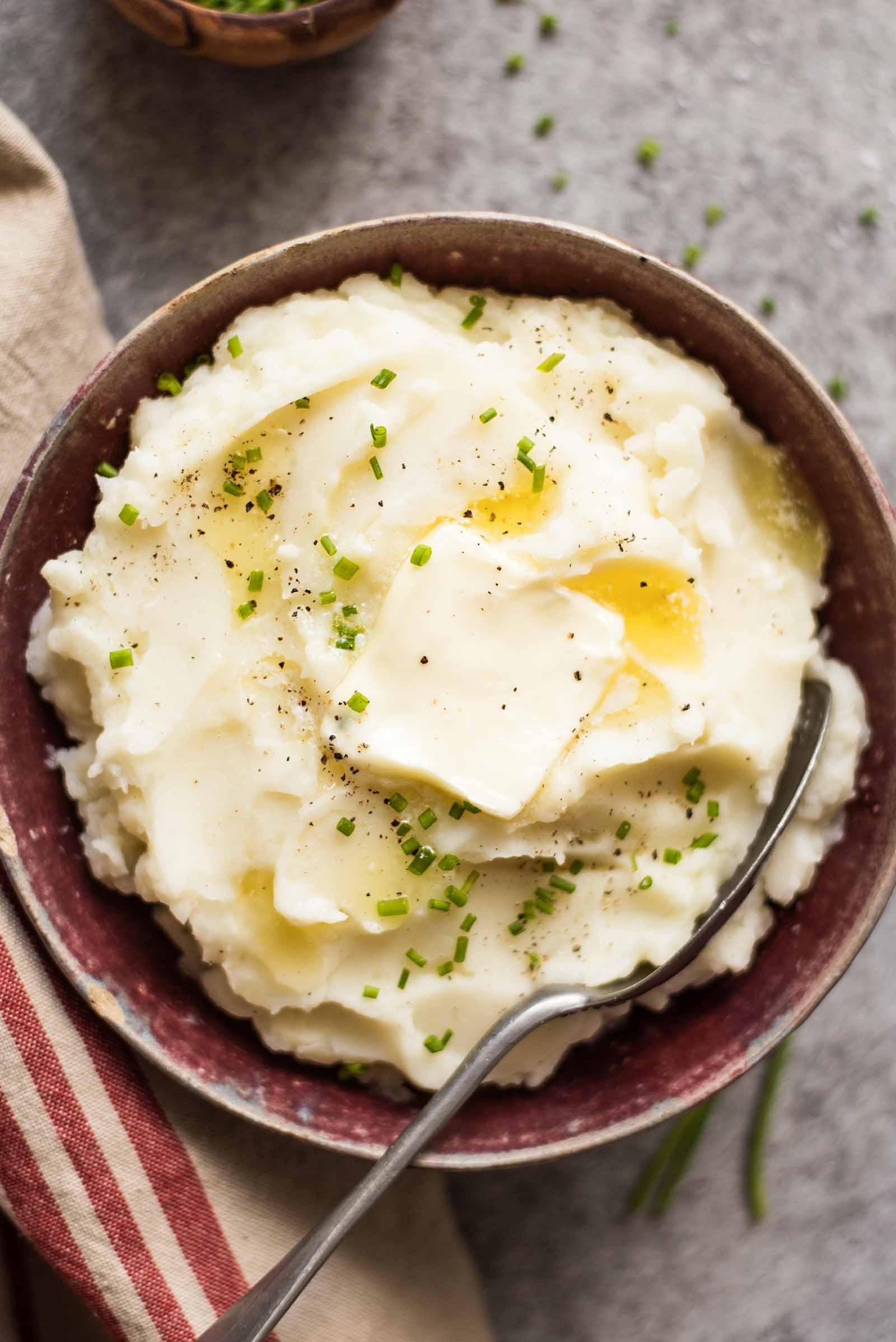 Thanksgiving Mashed Potatoes Recipe  Slow Cooker Mashed Potatoes Recipe