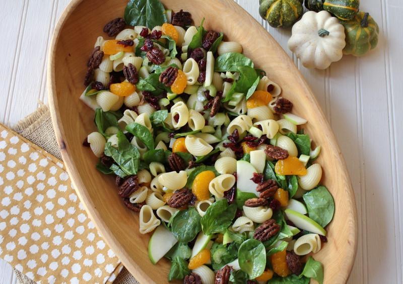 Thanksgiving Pasta Salad  Autumn Crunch Pasta Salad Lake Lure Cottage KitchenLake