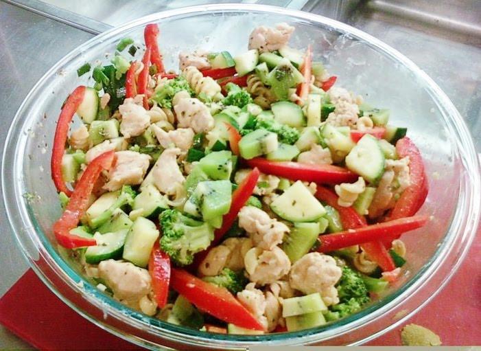 Thanksgiving Pasta Salad  Recipes TURKEY AND KIWIFRUIT PASTA SALAD
