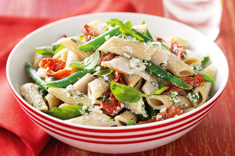 Thanksgiving Pasta Salad  turkey macaroni salad