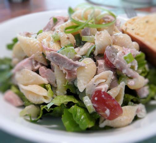 Thanksgiving Pasta Salad  Smoked Turkey Pasta Salad Recipe Food