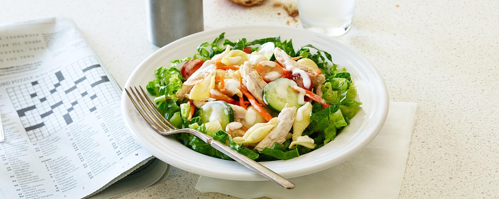 Thanksgiving Pasta Salad  Turkey Pasta Salad Recipe