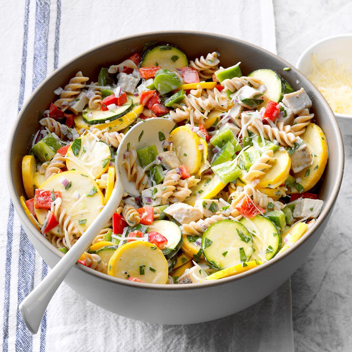 Thanksgiving Pasta Salad  Turkey and Pasta Ranch Salad Recipe