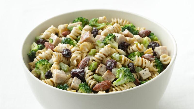 Thanksgiving Pasta Salad  Turkey Pasta Salad Recipe Tablespoon