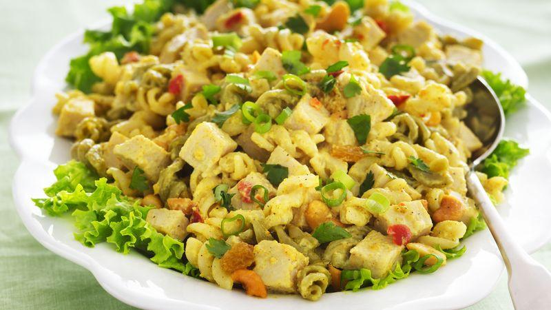 Thanksgiving Pasta Salad  Turkey Chutney Pasta Salad recipe from Tablespoon
