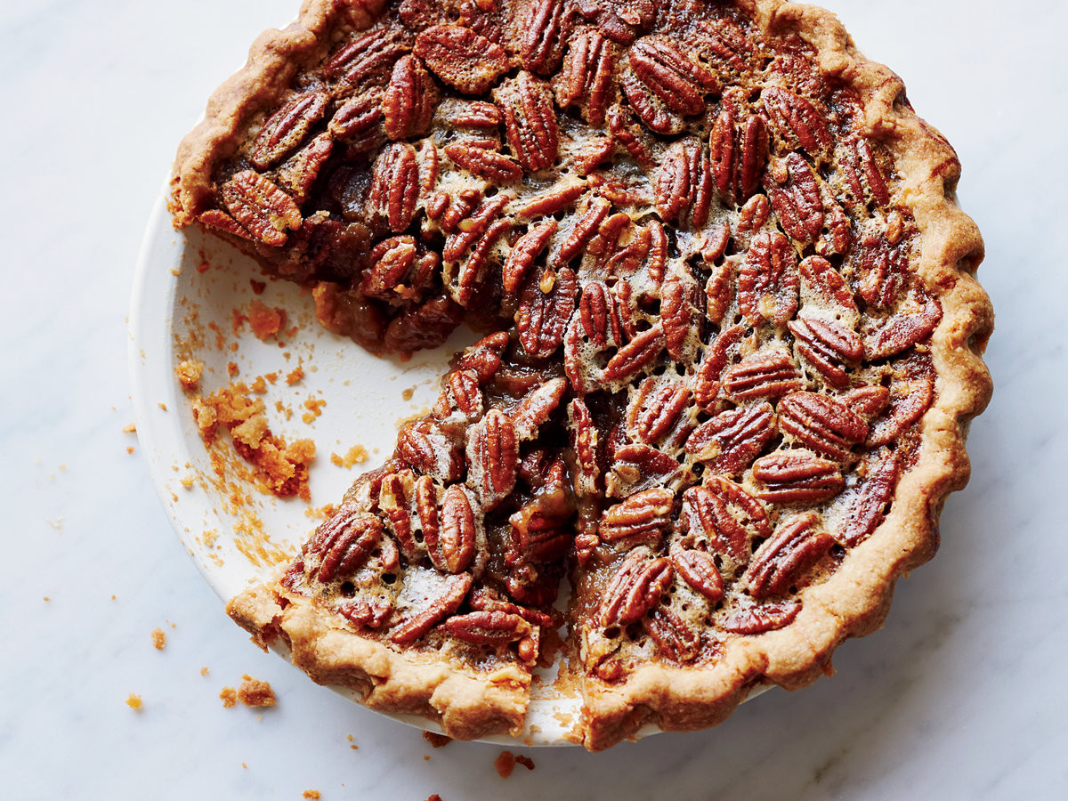 Thanksgiving Pecan Pie  Bourbon Pecan Pie Recipe Cheryl Day