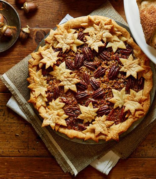 Thanksgiving Pecan Pie  54f63fd5c5443 granola pecan pie recipe clx1114 bypabp