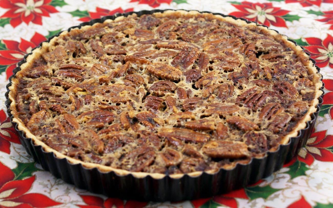 Thanksgiving Pecan Pie  Happy Thanksgiving and my Pecan Pie Torte Recipe