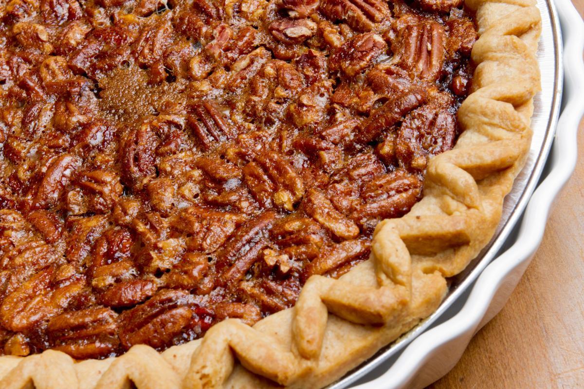 Thanksgiving Pecan Pie  Vegan Pumpkin Pecan Pie GreenBlender