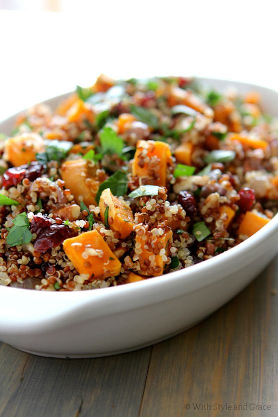 Thanksgiving Potatoes Recipe  Top 10 Thanksgiving Side Dishes quinoa sweet potato and