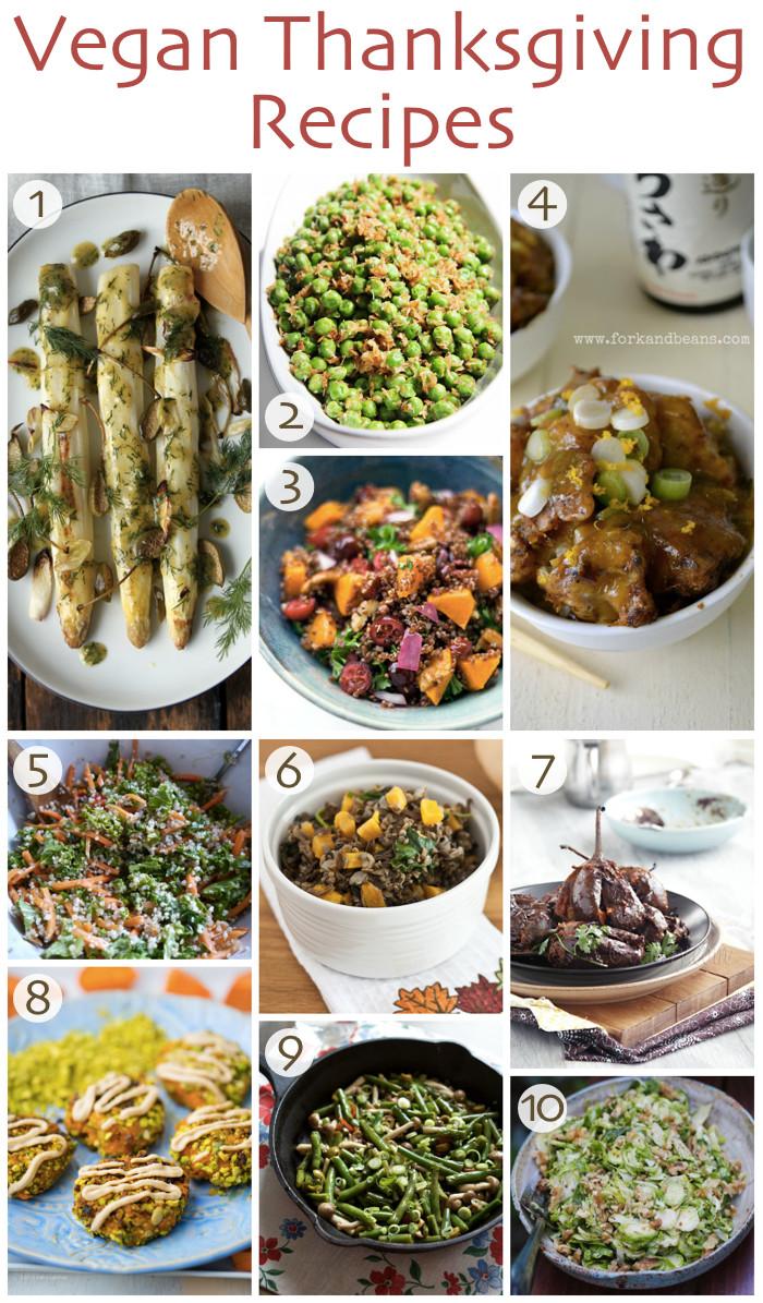 Thanksgiving Recipes Vegan  10 Vegan Thanksgiving Recipes