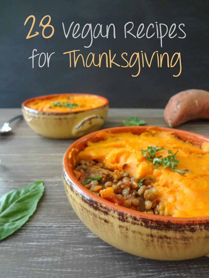 Thanksgiving Recipes Vegan  28 Delicious Vegan Thanksgiving Recipes health