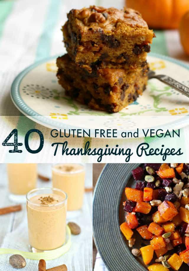 Thanksgiving Recipes Vegan  40 Vegan and Gluten Free Thanksgiving Recipes The