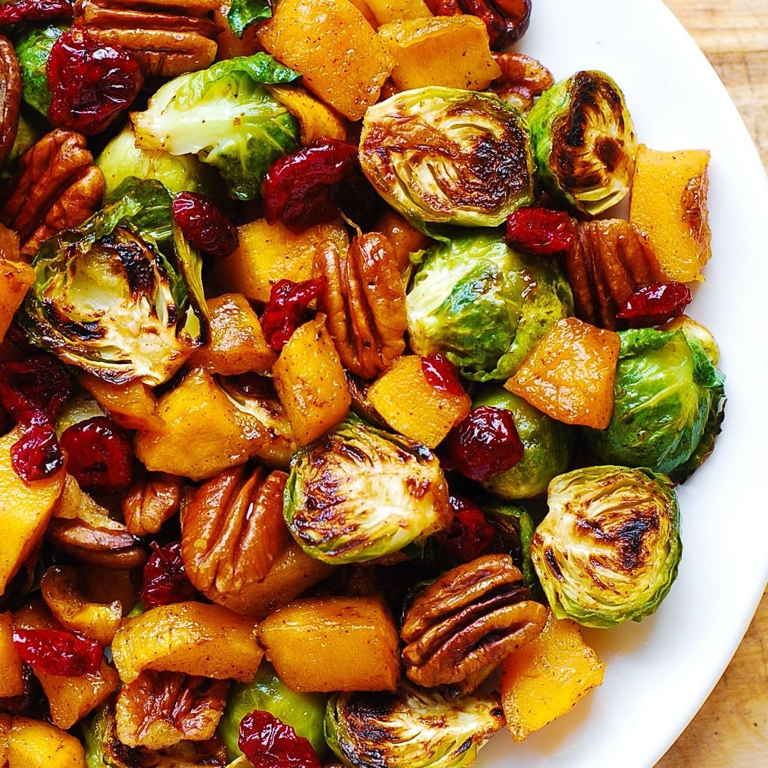 Thanksgiving Side Dishes 2019  Thanksgiving Side Dish Roasted Brussels Sprouts Cinnamon