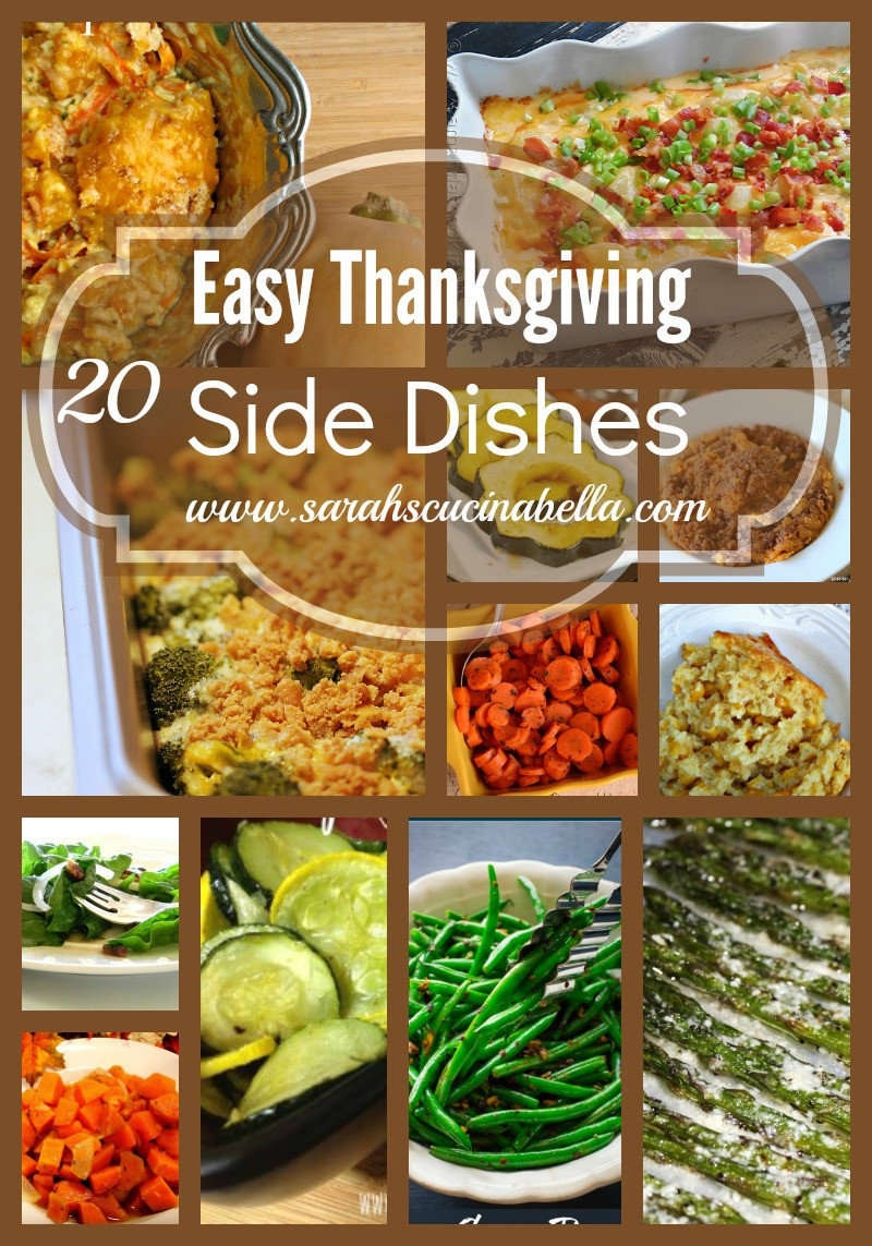Thanksgiving Side Dishes 2019  More than 20 Easy Thanksgiving Side Dishes