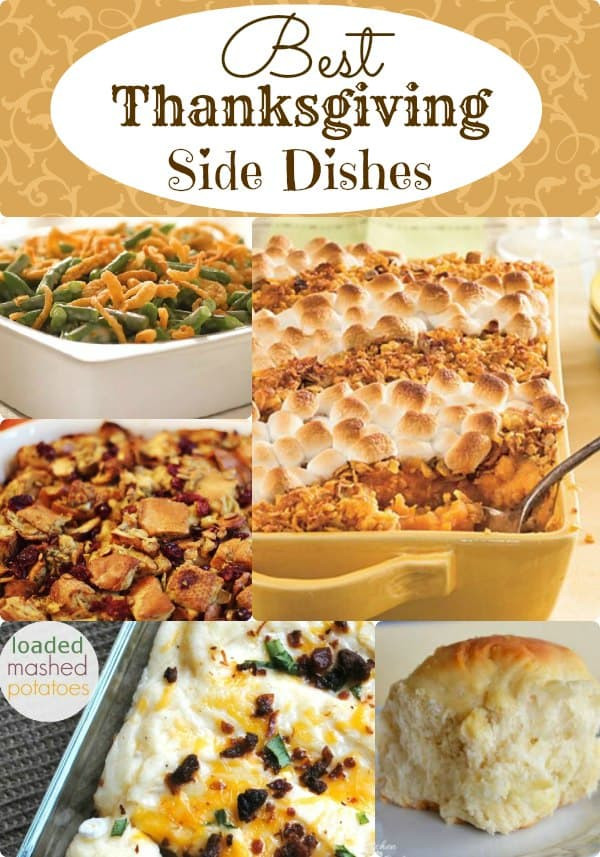 Thanksgiving Side Dishes Easy  Best Thanksgiving Side Dishes Classic Recipes You ll Love