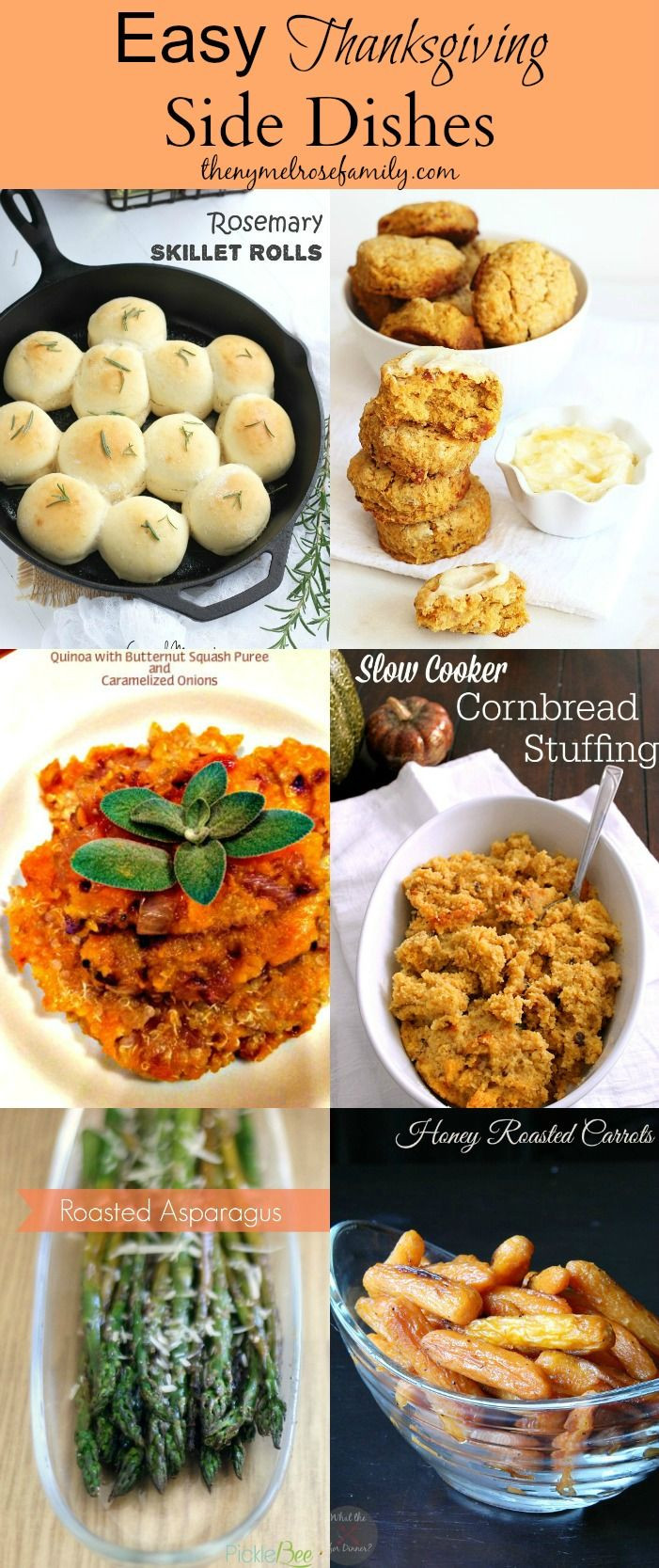 Thanksgiving Side Dishes Easy  199 best images about Easy Thanksgiving Recipes & Crafts