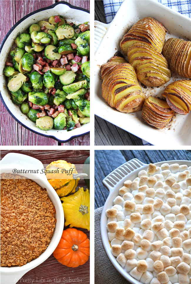 Thanksgiving Side Dishes Ideas  Last minute ideas for Thanksgiving A Pretty Life In The