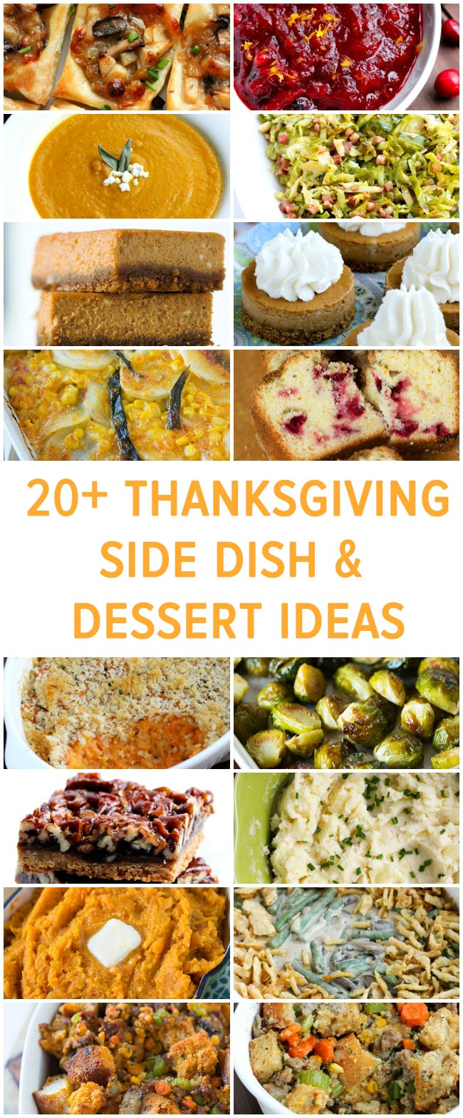 Thanksgiving Side Dishes Ideas  20 Thanksgiving Side Dish and Dessert Ideas Table for Two