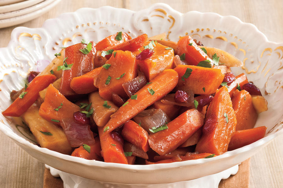 Thanksgiving Side Dishes Slow Cooker  Balsamic Root Ve ables Slow Cooker Thanksgiving Side