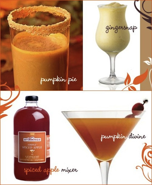 Thanksgiving Themed Drinks  Cheeky Chic Adult Trick or Treating