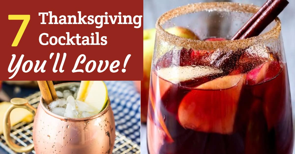Thanksgiving Themed Drinks  7 Thanksgiving Cocktails You Will Love
