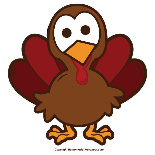 Thanksgiving Turkey Art  Free Thanksgiving Clip Art