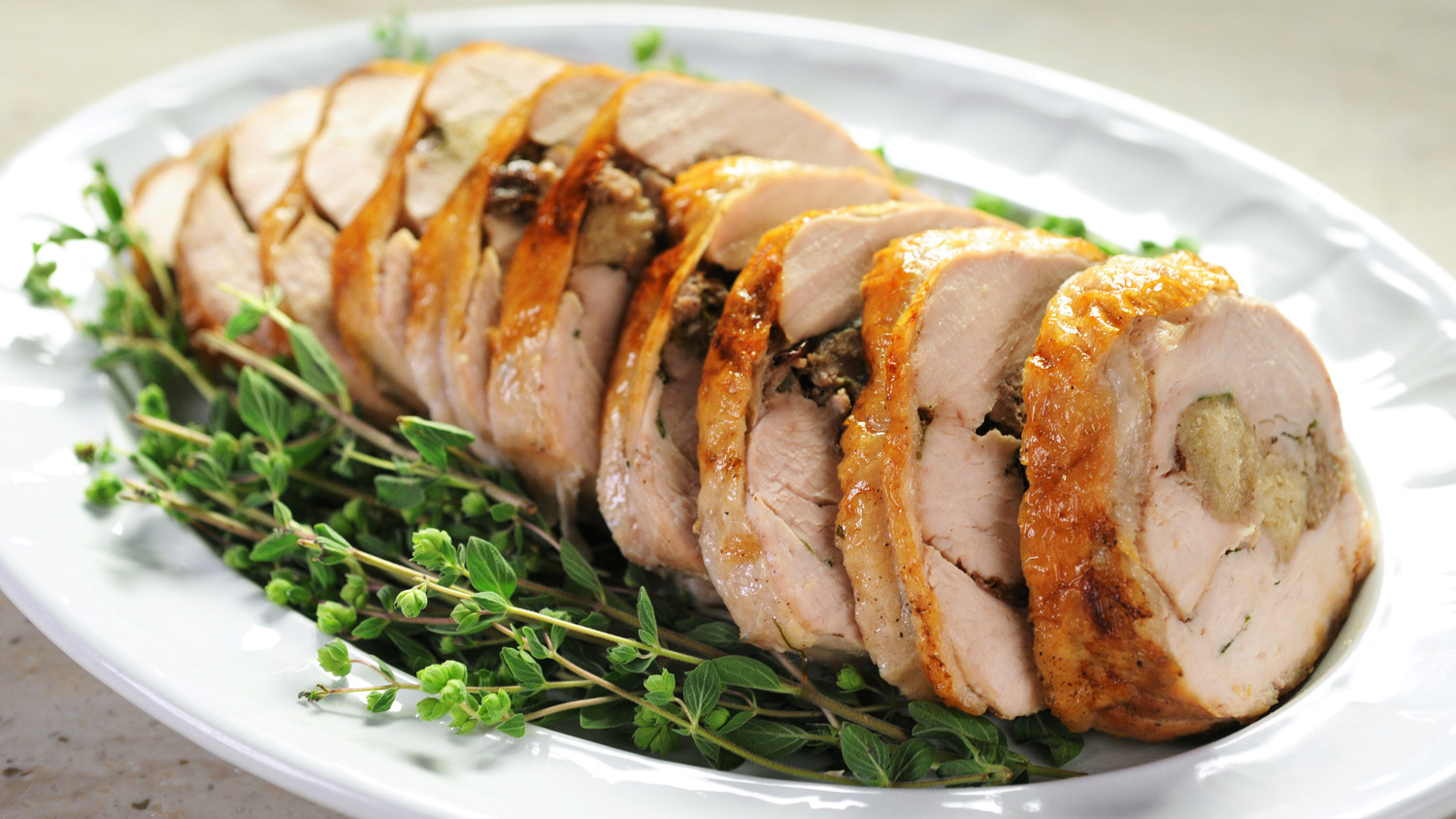 Thanksgiving Turkey Breast Recipe  Stuffed Turkey Breast