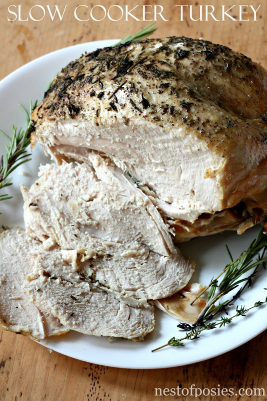 Thanksgiving Turkey Breast Slow Cooker  Slow Cooker Turkey Breast