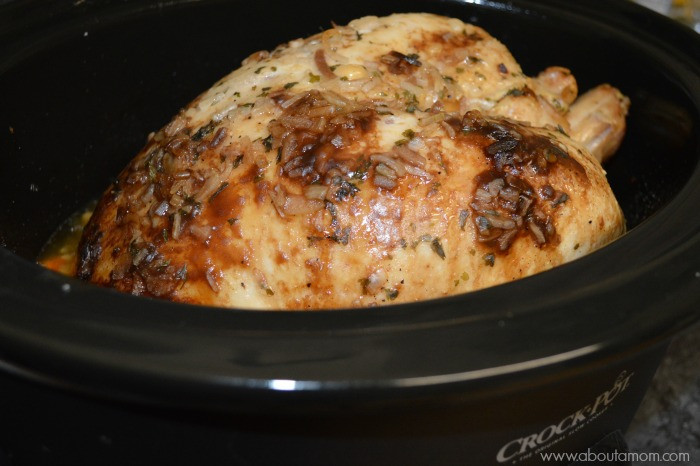 Thanksgiving Turkey Breast Slow Cooker  Slow Cooker Turkey Breast Recipe About A Mom
