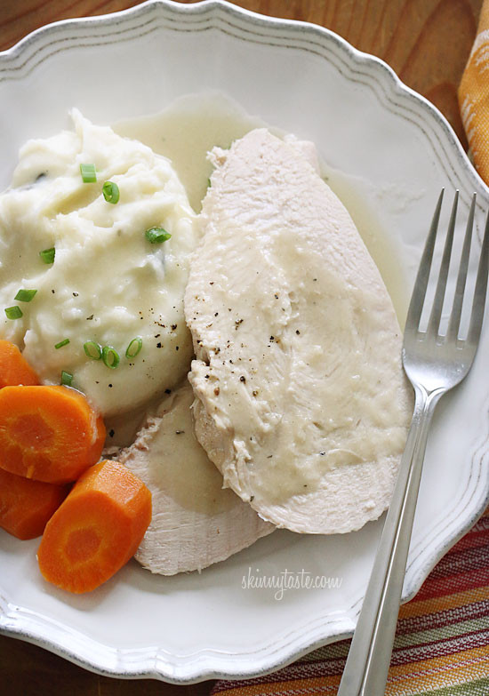 Thanksgiving Turkey Breast Slow Cooker  Slow Cooker Turkey Breast with Gravy