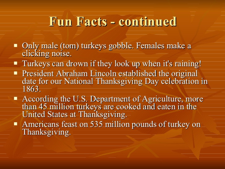 Thanksgiving Turkey Facts  The First Thanksgiving