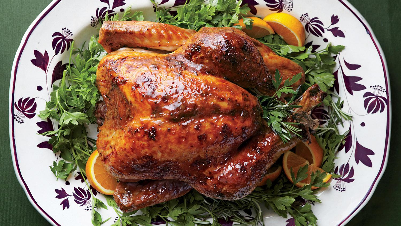 Thanksgiving Turkey For Two  Turkey with Brown Sugar Glaze