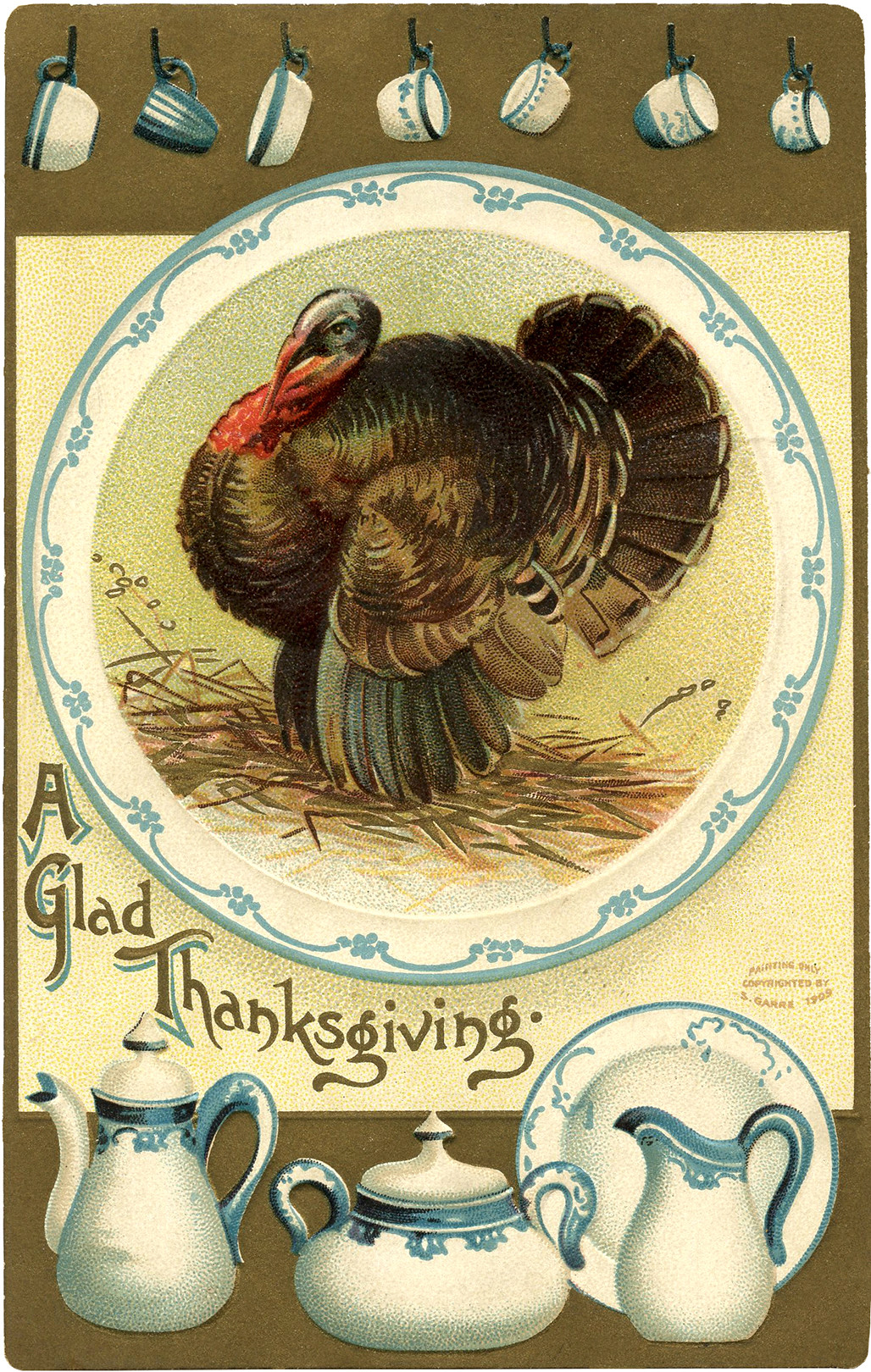 Thanksgiving Turkey Graphic  50 Fantastic Halloween and Fall Graphics The Graphics Fairy