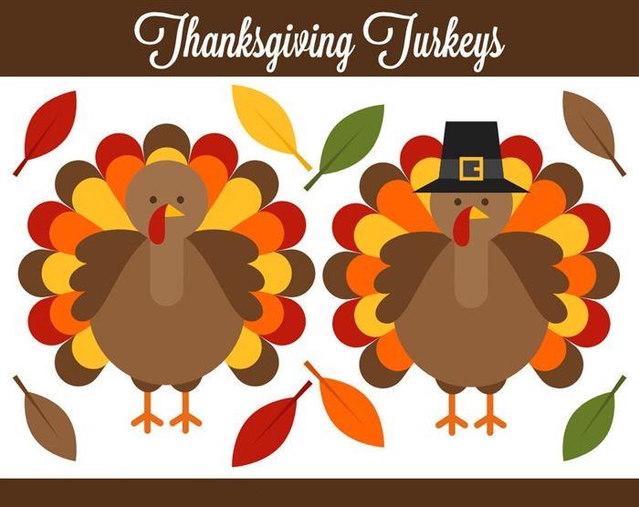 Thanksgiving Turkey Graphic  Talkin' Turkey Thanksgiving Stories – YouthScope
