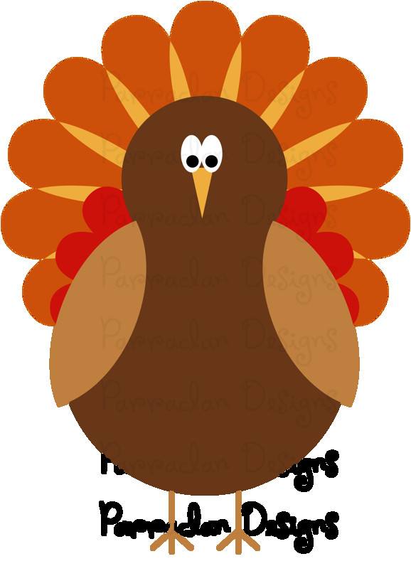 Thanksgiving Turkey Graphic  Thanksgiving Clip Art Preview