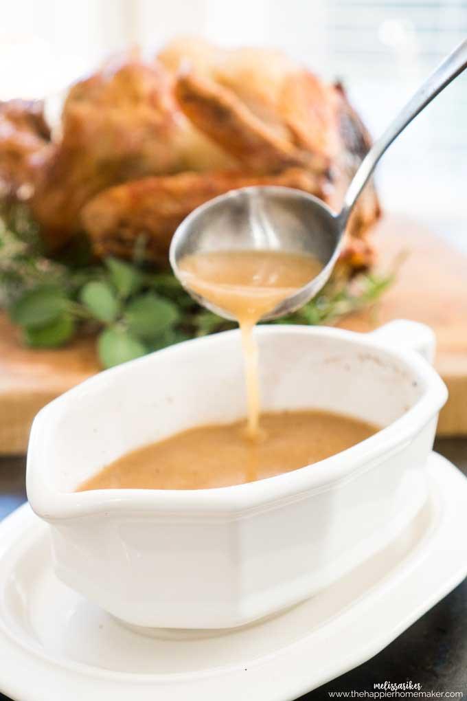 Thanksgiving Turkey Gravy  Best Turkey Gravy Recipe For Thanksgiving or Year Round