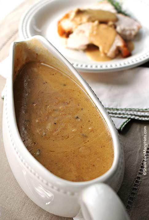 Thanksgiving Turkey Gravy  Turkey Gravy Recipe