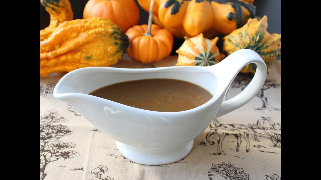 Thanksgiving Turkey Gravy  Turkey Gravy with Porcini Mushrooms and Marsala Wine