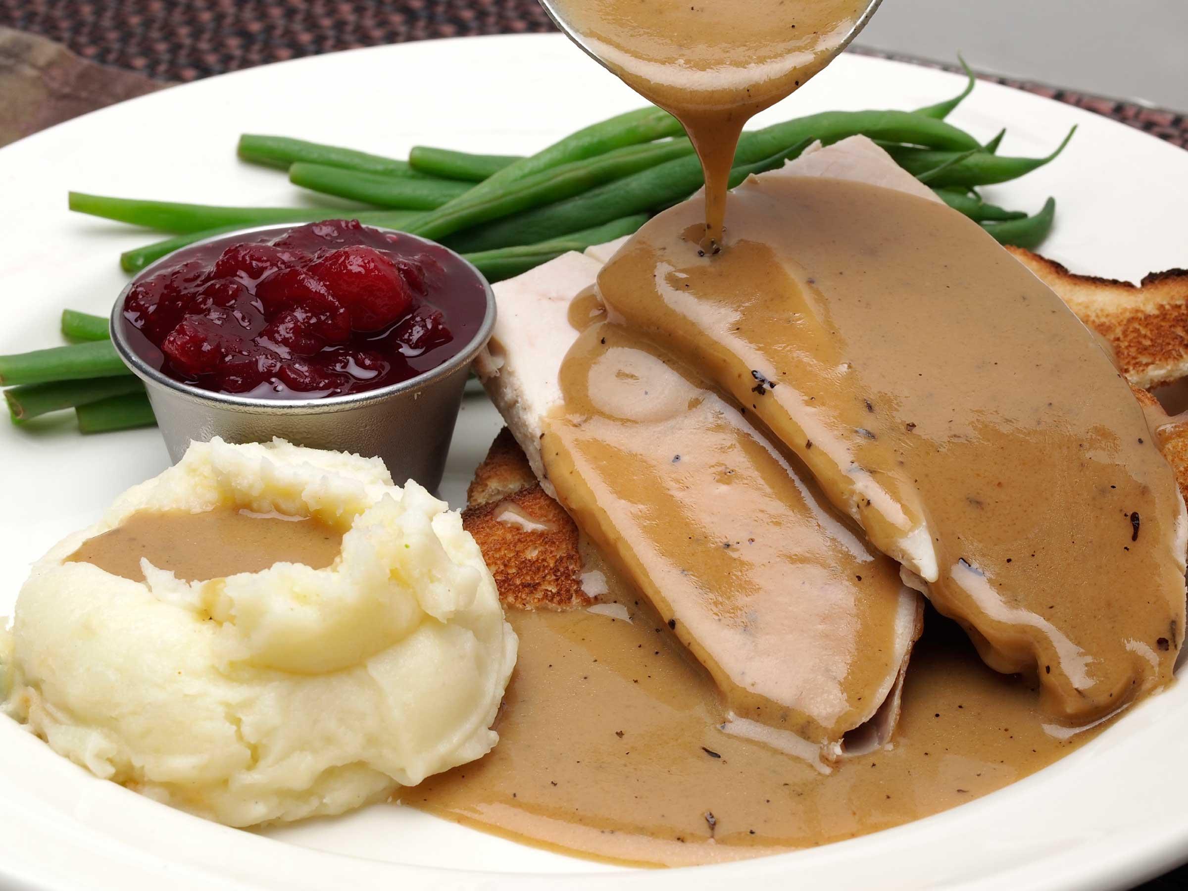 Thanksgiving Turkey Gravy  Best Restaurants Open For Thanksgiving Dinner 2016 In Los
