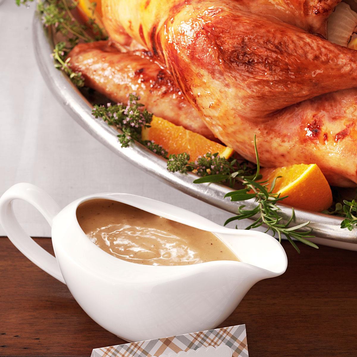 Thanksgiving Turkey Gravy  Grandma s Turkey Gravy Recipe