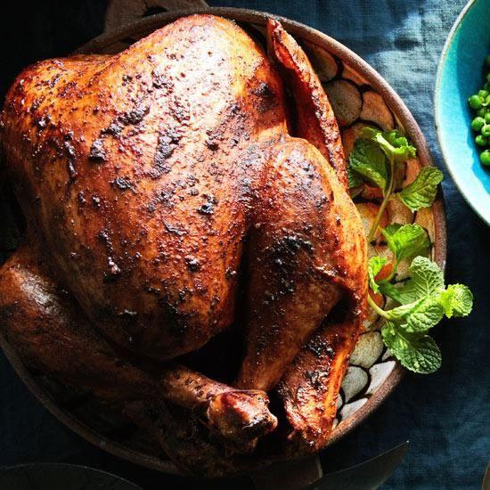 Thanksgiving Turkey Indian Style  Tandoori Turkey Recipe — Dishmaps